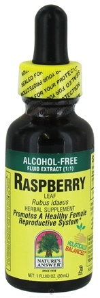 DROPPED: Nature's Answer - Raspberry Leaf Alcohol Free - 1 oz. CLEARANCE PRICED