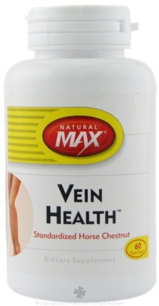DROPPED: Natural Max - Vein Health - 60 Capsules CLEARANCE PRICED