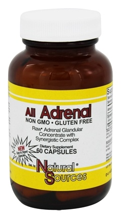 Natural Sources - All Adrenal - 60 Capsules