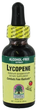 DROPPED: Nature's Answer - Lycopene Alcohol Free - 1 oz. CLEARANCE PRICED