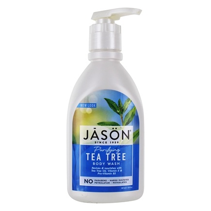Jason Natural Products - Satin Shower Body Wash Tea Tree - 30 oz.