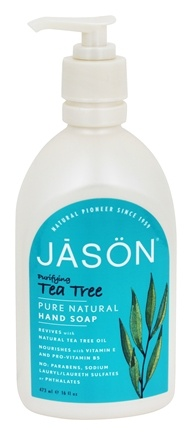 Jason Natural Products - Satin Soap Tea Tree - 16 oz.