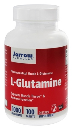 Jarrow Formulas - L-Glutamine 1000 mg. - 100 Tablets
