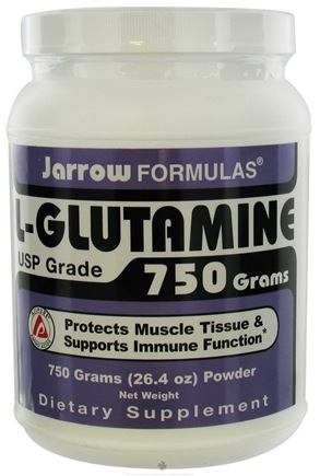 DROPPED: Jarrow Formulas - L-Glutamine 26.4 Oz - 750 Grams