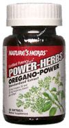 DROPPED: Nature's Herbs - Oregano-Power - 60 Softgels