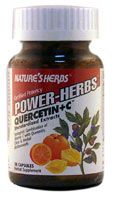 DROPPED: Nature's Herbs - Quercetin + C Mix 250 mg. - 50 Capsules