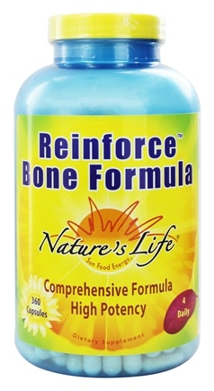 Nature's Life - Reinforce Bone Formula - 360 Capsules