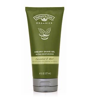 DROPPED: Nature's Gate - Creamy Shave Gel Cucumber and Aloe - 8.35 oz.