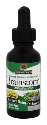 DROPPED: Nature's Answer - Brainstorm Alcohol Free - 1 oz. CLEARANCE PRICED