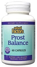 DROPPED: Natural Factors - Prost Balance - 60 Capsules