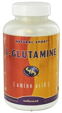 DROPPED: Natural Sport - L-Glutamine - 225 Grams CLEARANCE PRICED