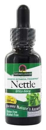 Nature's Answer - Nettle Leaf Alcohol Free - 1 oz.