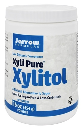 DROPPED: Jarrow Formulas - Xyli Pure Xylitol Low Glycemic Sweetener NON GMO - 1 lb.