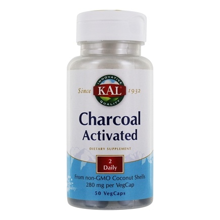 DROPPED: Kal - Charcoal - 50 Capsules