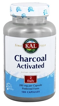 DROPPED: Kal - Charcoal - 100 Capsules