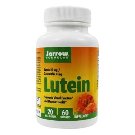 Jarrow Formulas - Lutein 20 mg. - 60 Softgels