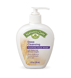 DROPPED: Nature's Gate - Deep Cleansing Foaming Face Wash with Amino Acid Moisture Complex - 8 oz.