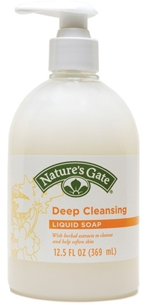 DROPPED: Nature's Gate - Liquid Soap Deep Cleansing - 12.5 oz.