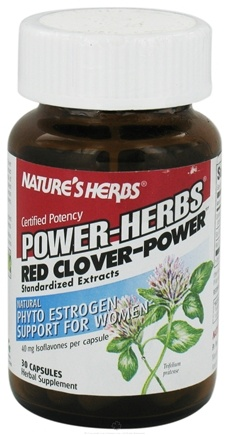 DROPPED: Nature's Herbs - Red Clover-Power - 30 Capsules