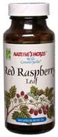 DROPPED: Nature's Herbs - Red Raspberry Leaves - 100 Capsules