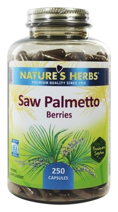 Nature's Herbs - Saw Palmetto - 250 Capsules
