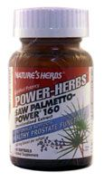 DROPPED: Nature's Herbs - Saw Palmetto Power 160 - 60 Softgels