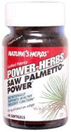 DROPPED: Nature's Herbs - Saw Palmetto-Power - 60 Capsules