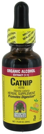 DROPPED: Nature's Answer - Catnip Herb Organic Alcohol - 1 oz.