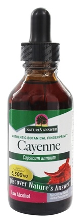 Nature's Answer - Cayenne Fruit Organic Alcohol - 2 oz.