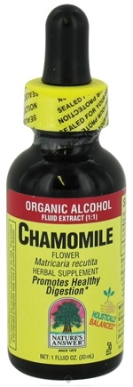 DROPPED: Nature's Answer - Chamomile Flowers Organic Alcohol - 1 oz. CLEARANCE PRICED