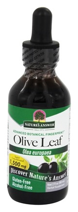 Nature's Answer - Oleopein Olive Leaf Alcohol Free - 2 oz.
