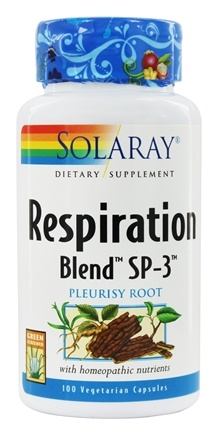 Solaray - Respiration Blend SP-3 - 100 Capsules