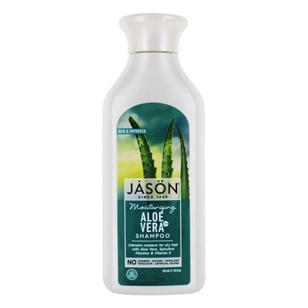 JASON Natural Products - 84% Pure Aloe Vera Shampoo Hair Soothing - 16 oz.