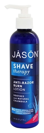 Jason Natural Products - Shave Therapy Anti-Razor Burn Lotion - 8 oz. (formerly Beard & Skin Shave Therapy Shave Lotion)