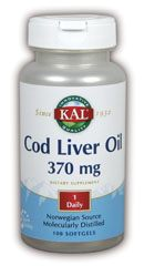 DROPPED: Kal - Cod Liver Oil - 100 Softgels