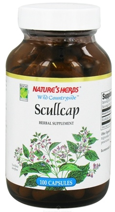DROPPED: Nature's Herbs - Scullcap - 100 Capsules CLEARANCE PRICED