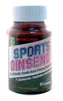 DROPPED: Nature's Herbs - Sports Ginseng Economy Size - 50 Capsules