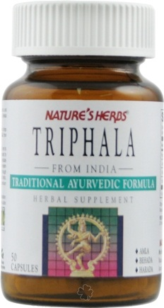 DROPPED: Nature's Herbs - Triphala - 50 Capsules