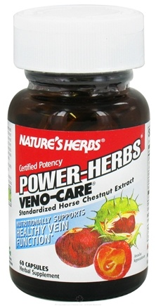DROPPED: Nature's Herbs - Veno-Care-Power - 60 Tablets CLEARANCE PRICED