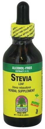 DROPPED: Nature's Answer - Stevia Leaf Alcohol Free - 2 oz. CLEARANCE PRICED