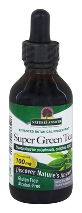 Nature's Answer - Super Green Tea Alcohol Free - 2 oz.