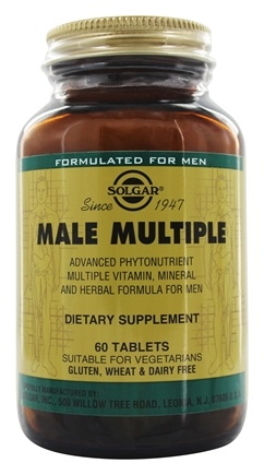 Solgar - Male Multiple - 60 Tablets