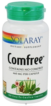 DROPPED: Solaray - Comfree 460 mg. - 100 Capsules