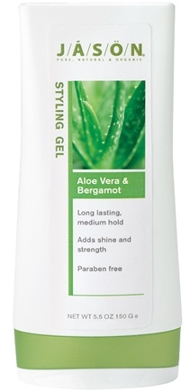 DROPPED: Jason Natural Products - Aloe Vera & Bergamot Styling Gel - 5 oz. CLEARANCE PRICED