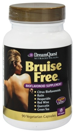 DROPPED: Dream Quest Nutraceuticals - Bruise Free - 90 Vegetarian Capsules