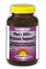 DROPPED: Nature's Life - Men's 800+ Prostate Support - 60 Vegetarian Tablets
