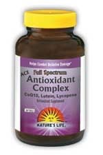 DROPPED: Nature's Life - Antioxidant Complex - 60 Softgels