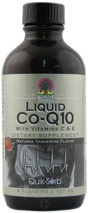 DROPPED: Nature's Answer - Platinum Liquid Co-Q10 with Vitamins C & E Natural Tangerine Flavor - 4 oz. CLEARANCED PRICED
