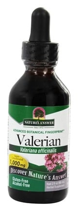 Nature's Answer - Valerian Root Alcohol Free - 2 oz.