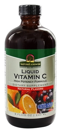 Nature's Answer - Vitamin C Liquid High Potency Formula - 8 oz.